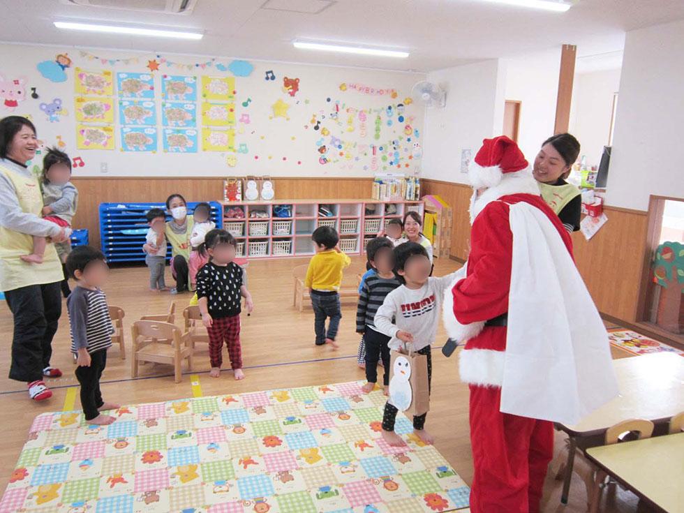 千成ヤクルト保育園 クリスマス会